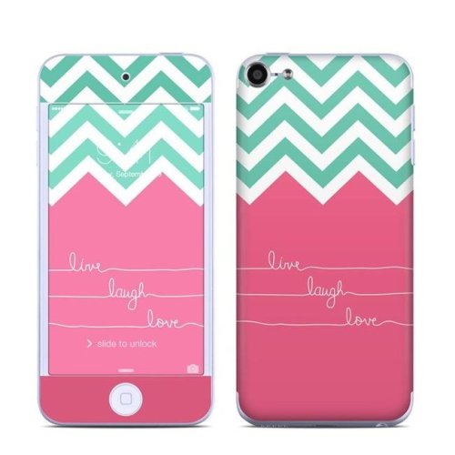 DecalGirl IPT6-LIVELAUGHLOVE Apple iPod Touch 6G Skin - Live Laugh Love