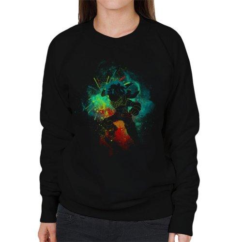 Deku Silhouette My Hero Academia Women's Sweatshirt