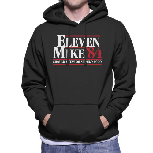 Stranger Things Mike And Eleven Men's Hooded Sweatshirt