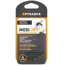 Mosi-Off Insect Repellent Ankle/Wrist Bands - Pack of Four