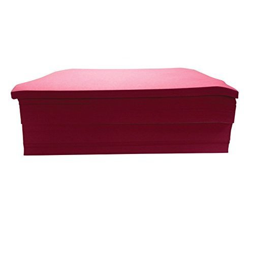 Childcraft 1465880 Light Weight Construction Paper 9 x 12 Red Pack of 500
