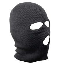 Trixes Black Balaclava for Paintball Motorbikes & Skiing