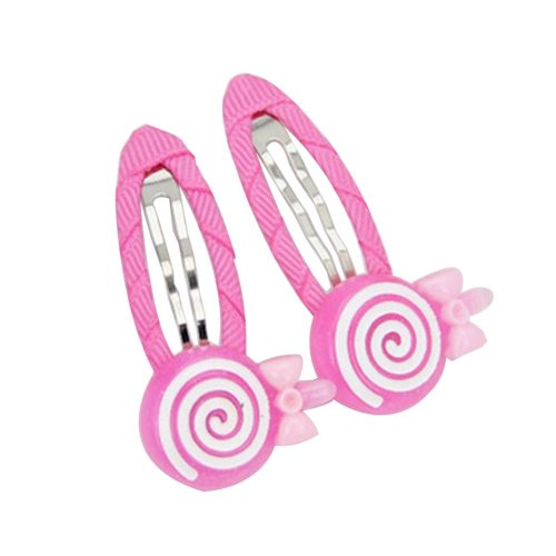 [Candy-1] 6 Pairs Cute Hair Clip Baby Girls Hair Clip Princess Hair Barrettes