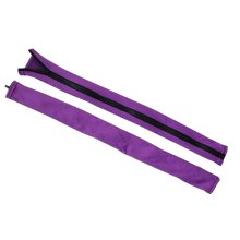 Comfy Office Chair Armrest Cover for Elbows with Zipper [Purple]