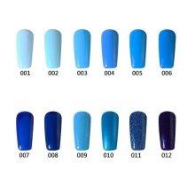 12 Colors Nano UV Gel Polish Blue Color System Dreamlike Soak-off Nail Charming 12ml