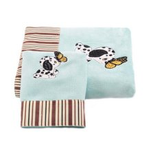 Dog Pattern Baby Strong Absorbent Bath Towels Sets(Multicolor)