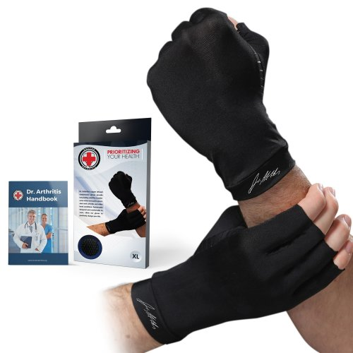 559f93a934 Dr. Arthritis - Copper Infused Arthritis Compression Gloves [PAIR] and Doctor  Written Handbook - Excellent Customer Service - GUARANTEED relief... on  OnBuy