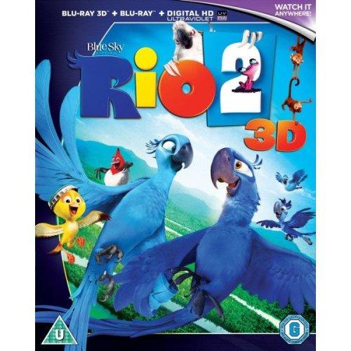 Rio 2 3d (includes Ultraviolet Copy)
