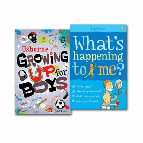 Usborne What's Happening to Me & Growing Up Boys 2 Book set