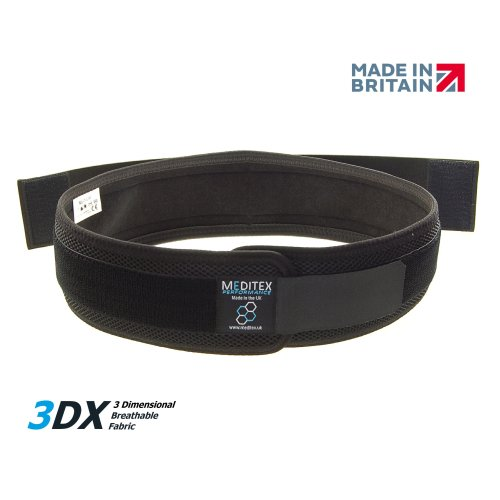 MEDITEX SACROILIAC SUPPORT BELT - Support For Lower Back, Sacroiliac & Lower Back Pain, Breathable, Instability & Weak Lower Back Muscles – Adjustable Belt – Class 1 Medical Device – Unisex