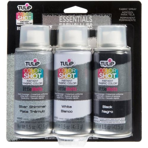 I Love To Create 37229 Tulip ColorShot Instant Fabric Color Spray - Essentials, Pack of 3