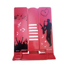 Creative Book Stand Reading Holders Bookends Book Racks, Bigger Red