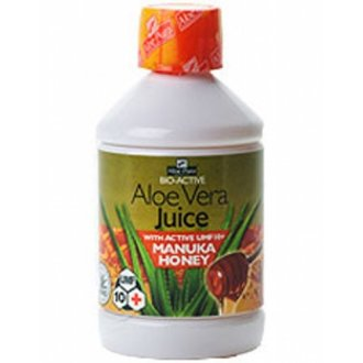 Aloe Pura Aloe Vera Juice with Manuka Honey Umf 10+ 500ml