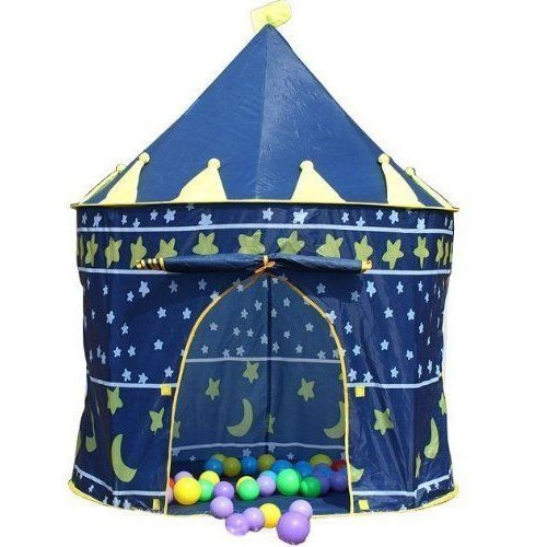POP UP TENT PRINCESS FAIRY TALE CASTLE / WIZARD SORCERER / DREAM HOME [Sorcerer Wizard Hideout Castle]
