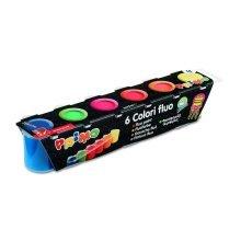 Farby Primo Fluo 6 Kolorów W Plastikowych Pojemniczkach -  farby primo fluo 6 kolorw plastikowych pojemniczkach