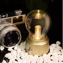 Retro Rechargeable Bulb Light LED Nightlight