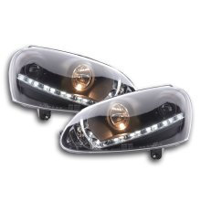 DRL Daylight headlight  VW Golf 5 type 1K Year 03-08 black