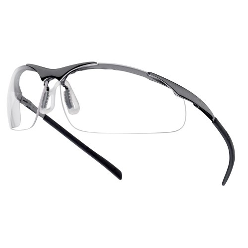 f8ee25d82df9 Bolle CONTOUR METAL CONTMPSI Safety Glasses Spectacles Clear Lens on OnBuy