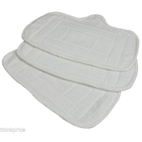REPLACE HOME-TEK MICRO FIBRE STEAM MOP CLEANING PADS 3