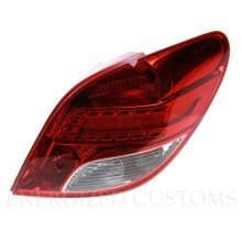 Peugeot 207 5/2010-> Rear Tail Light Drivers Side O/s