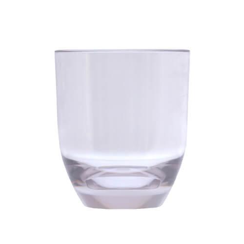 Epicurean Acrylic Curve Based DOF Tumbler, Transparent