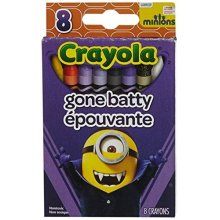 Crayola Minions 8 Boxes of 8 Crayons