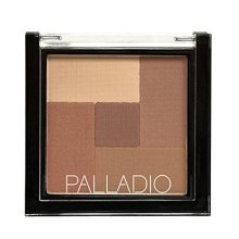 Palladio 2-In-1 Mosaic Powder Blush & Bronzer, Sun Kissed