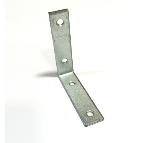 30x Heavy Duty Metal Narrow Angle Corner Brackets 60x60x15x2mm Silver