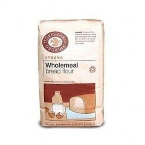 Doves Farm - Org Strong W/Meal Bread Flour 1500g (5 pack)