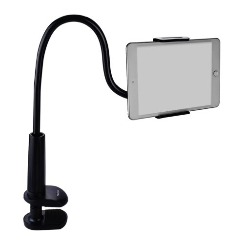 Tryone Gooseneck Nintendo Switch Mount Holder/ iPad Stand/ Tablet Stand (Black)