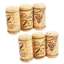 Creative Wine Bottle Stopper Champagne Stopper Keep Fresh Sealed Stopper - 6 Pieces #26