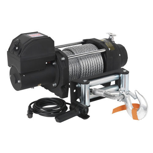 Sealey RW8180 12V Industrial Recovery Winch 8180kg Line Pull
