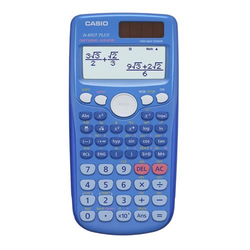 Casio Scientific Calculator with 260 Functions - Blue (FX-85GTPLUSBLUE)