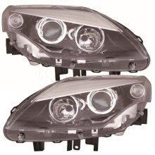 Renault Laguna Mk3 1/2011-> Headlights Headlamps 1 Pair O/s & N/s