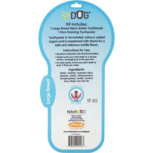 EZ Dog Pet Toothbrush Kit-Large Breed