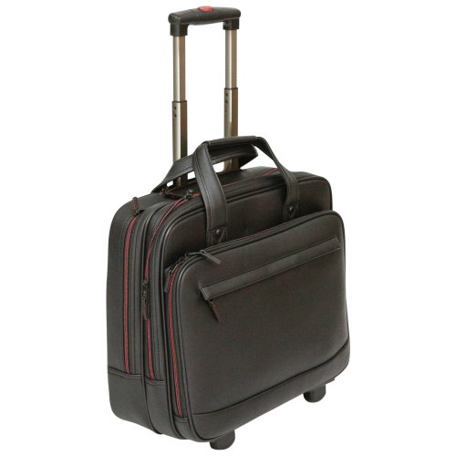 Tassia Wheeled Laptop Case Fits Up To 15 6 Computer Briefcase Trolley Pilot