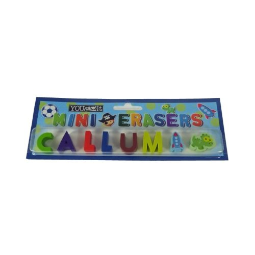 Childrens Mini Erasers - Callum