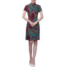 Elegant Chinese Dress Qipao Dresses Cheongsam Women Clothing Skirt XXL-13