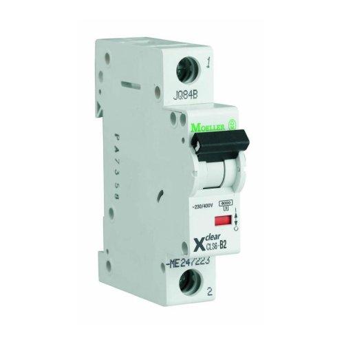 1-Pole 1-Module 16-32A 230/400VAC Circuit Breaker Eaton CLS6-D-DP