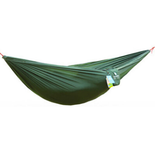 Multifunctional Camping Hammock Hanging Bed Double Size[2.6*1.3m] Green