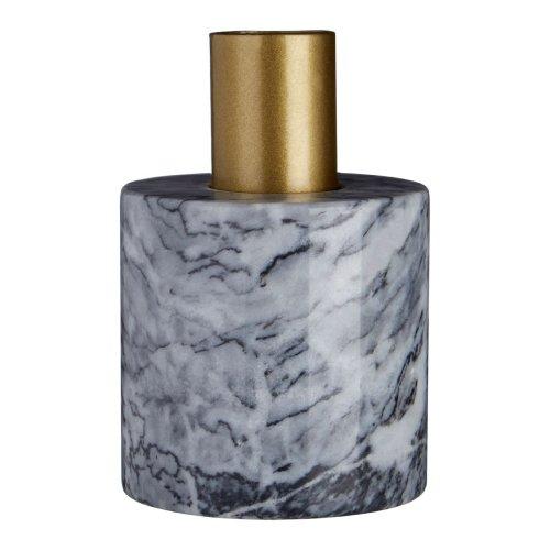 Lamonte Grey Marble Candle Holder