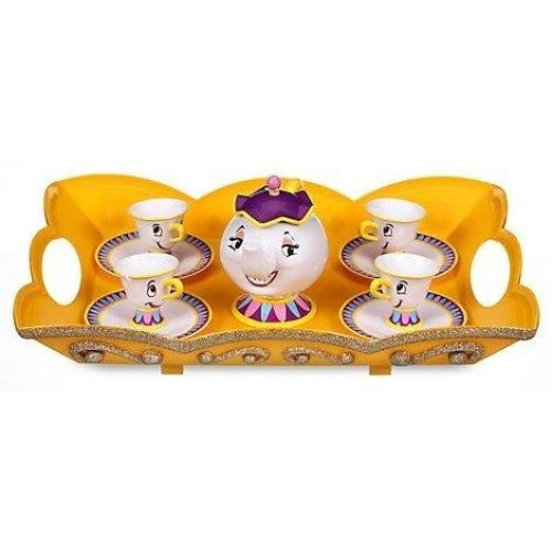 Disney's Beauty And The Beast Tea Set