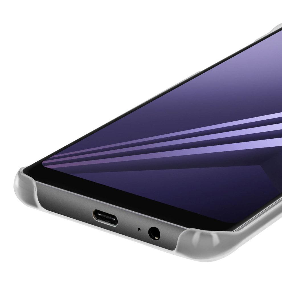 best service 3d0eb c26c7 Original Samsung slim case, Clear Cover for Samsung Galaxy A8 - Transparent