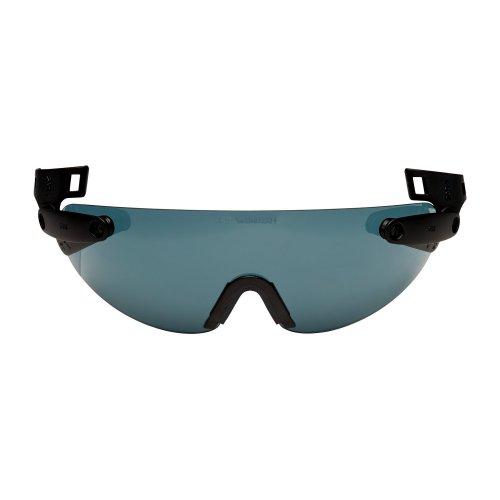 3M V6B Helmet Integrated Safety Glasses, Grey