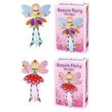 6 Make Your Own Sequin Fairy Craft Kits