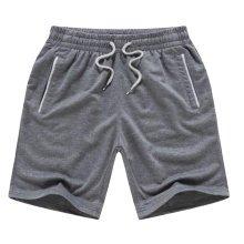 Quick-drying Pants Men Casual Boardshorts Holiday Loose Beach Shorts 4XL Gray A