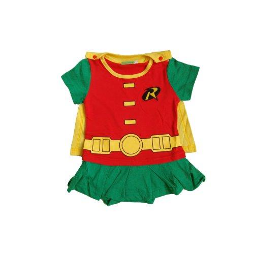 Robin-inspired Baby Infant Superhero Dress