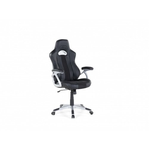 Office chair - Computer chair - Swivel - Synthetic leather - Black - ADVENTURE