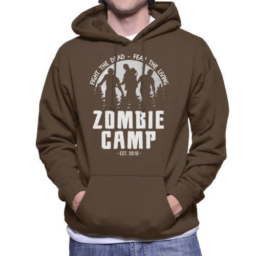 Zombie Camp The Walking Dead Men's Hooded Sweatshirt