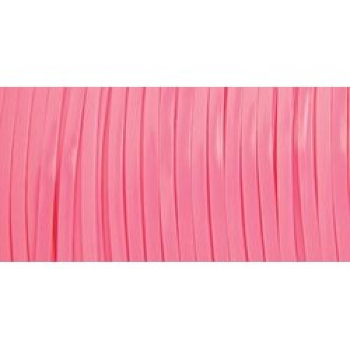 """Rexlace Plastic Lacing .0938""""X100yd-Neon Pink"""